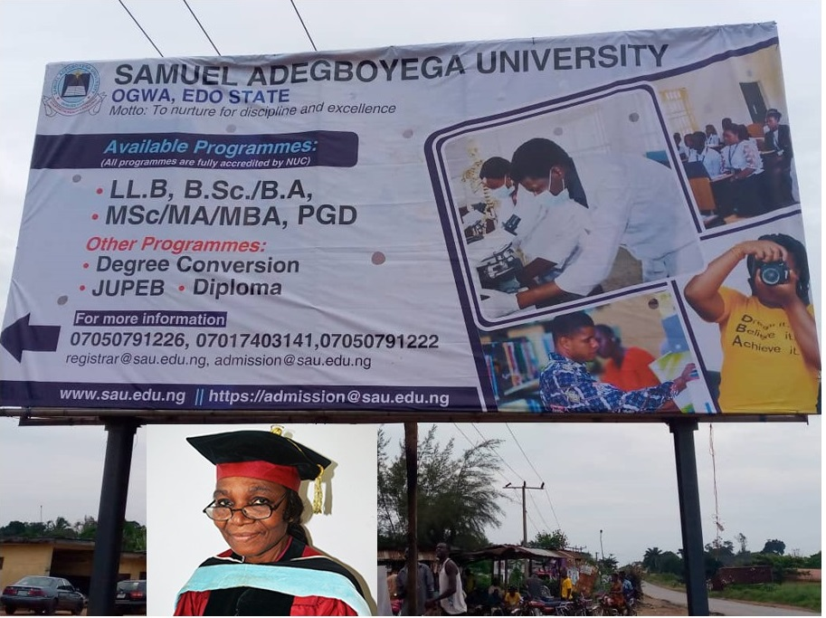 LEAVING GOOD BEHIND IS OUR NEW DNA- PROF. F.M. OGBE